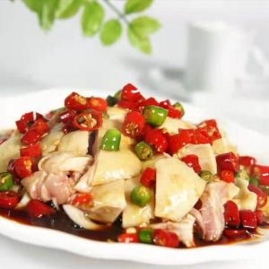 Chicken with red chilli