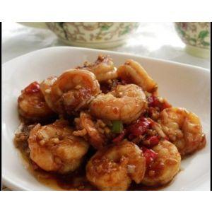 Fish-flavored shrimp balls
