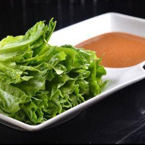 Vegtable with Sesame oil