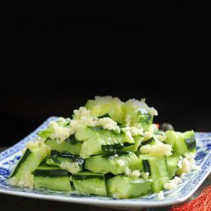 Garlic with Cucumber