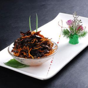 Hot and Sour Black Fungus